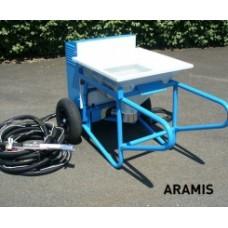 Машина за полагане на мазилки и попълване на фуги