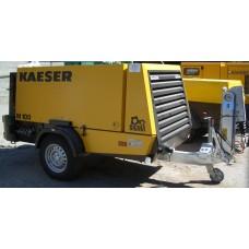 Мобилен компресор под наем  10 куб./мин Кaeser M100